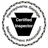 Certified Inspector, Pennsylvania Septic Management Association